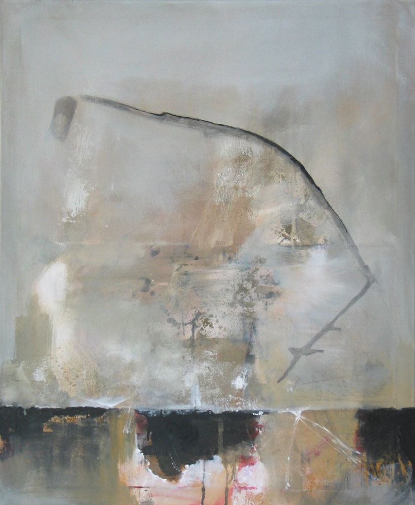 #200919 | Pigment auf Leinwand | 110 x 90 cm