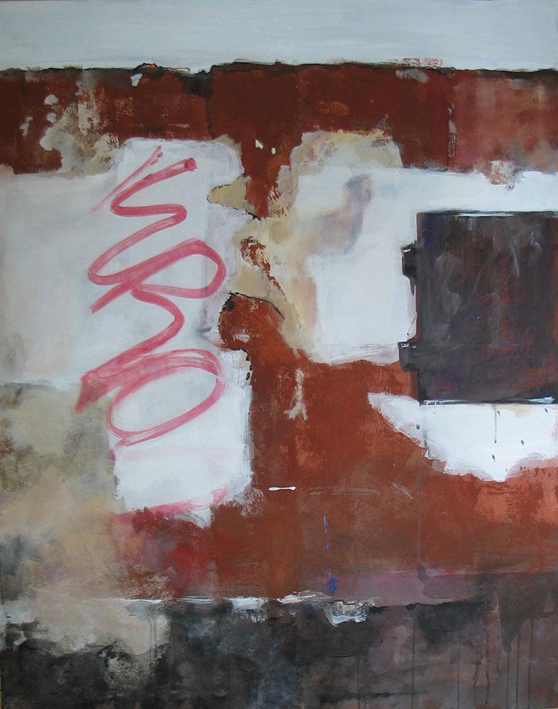 #20099   Acryl und Pigment auf Leinwand   140 x 110 cm
