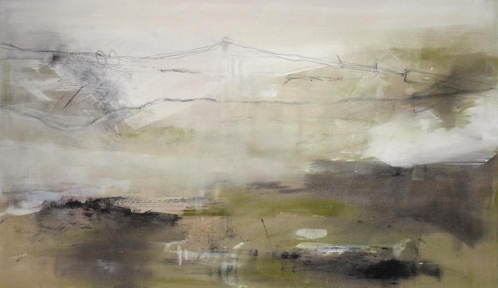 Landschaft   #20142   Mixed Media auf Leinwand   68 x 120 cm