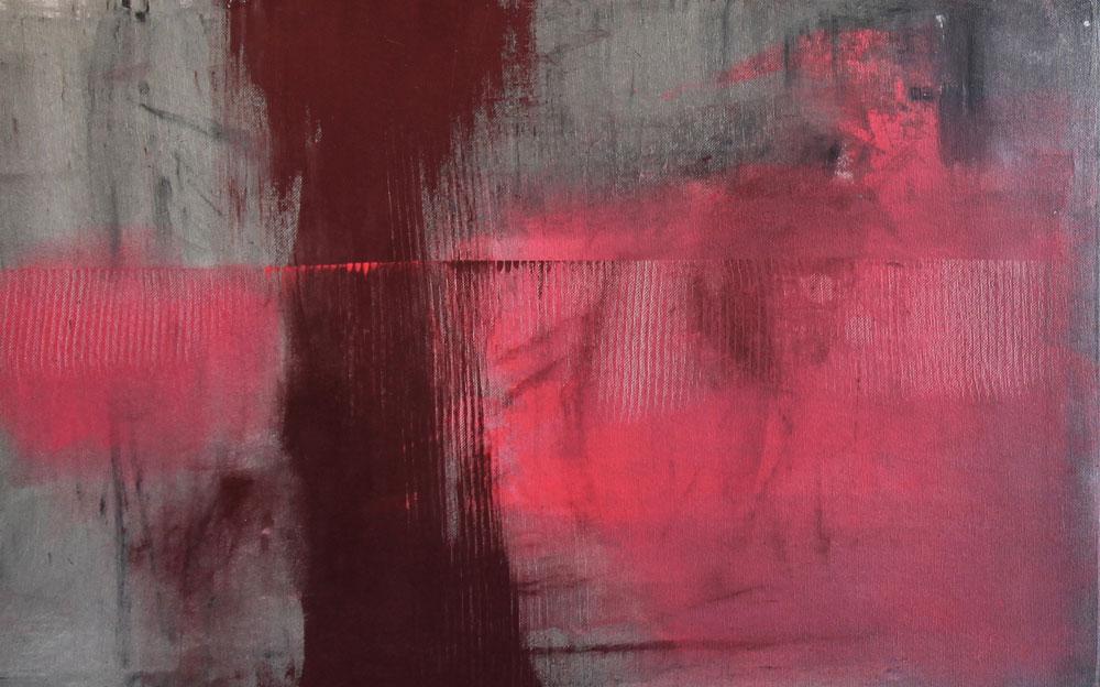 #20149 | Acryl und Pigment auf Leinwand | 36 x 56 cm