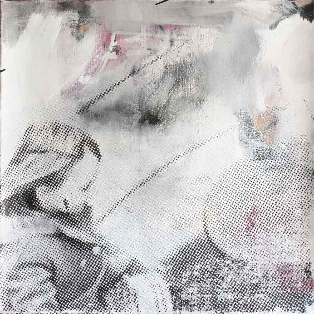 #201524 | Acryl und Siebdruck auf Leinwand | 70 x 70 cm