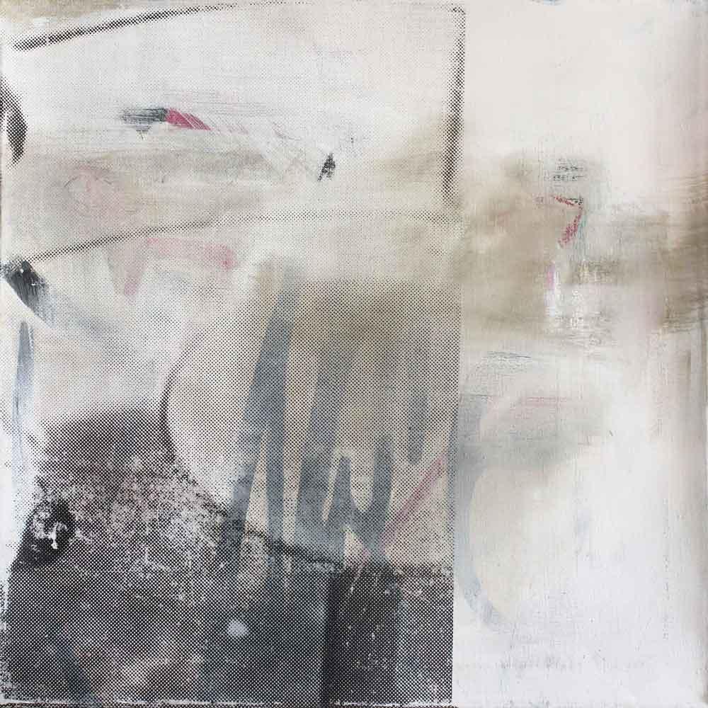#201530 | Acryl und Siebdruck auf Leinwand | 70 x 70 cm