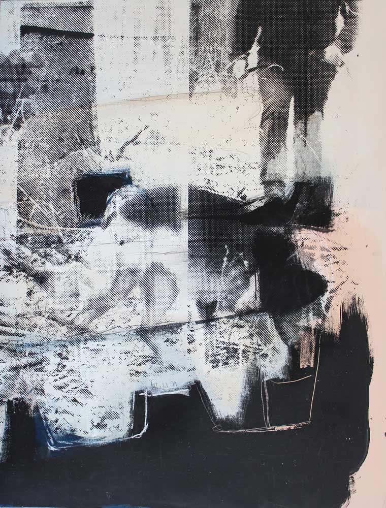 #2017138 | Acryl und Siebdruck | 60 x 46 cm