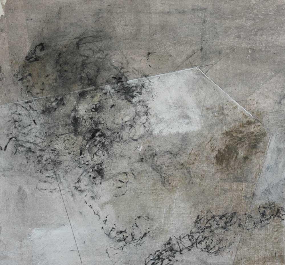#201443 | Mixed Media auf Leinwand | 39 x 42 cm