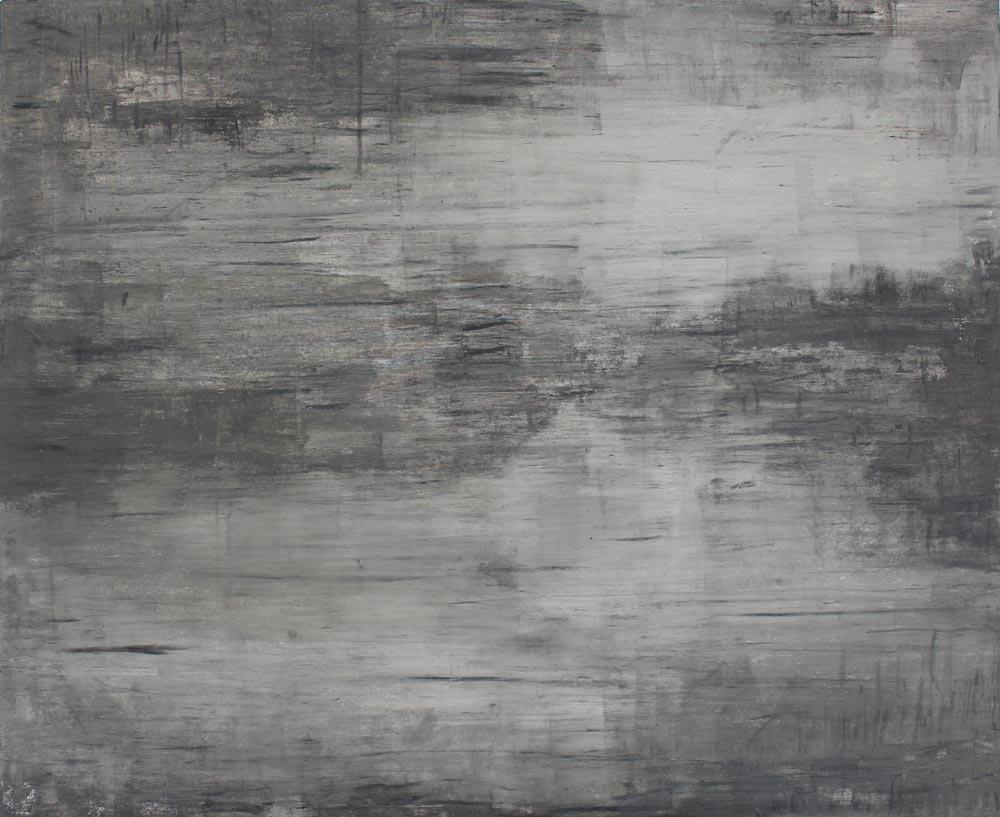 #20123 | Asche auf Leinwand | 99 x 120 cm