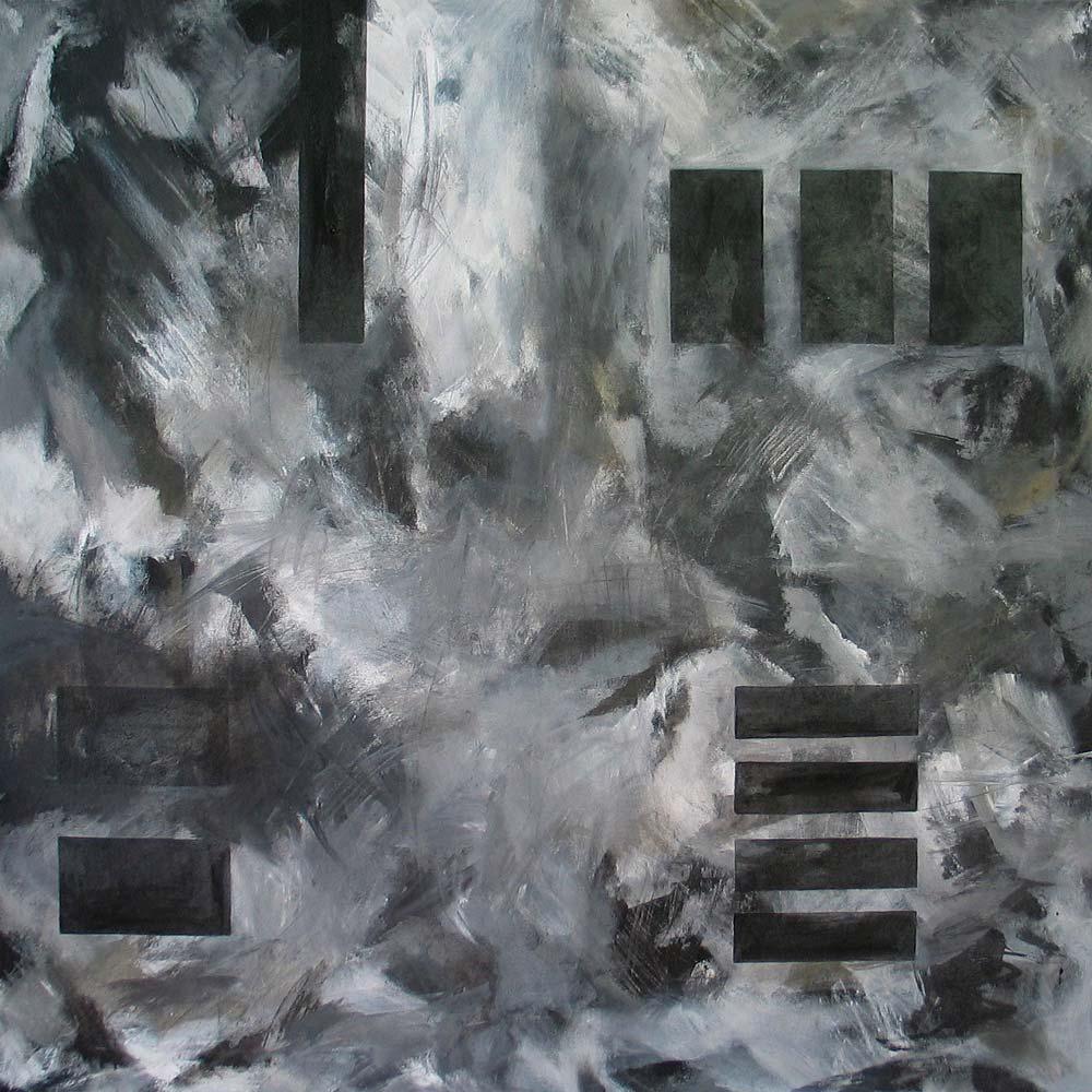 #200354 | Variationen zu einem Thema #14 | Acryl auf Leinwand | 80 x 80 cm