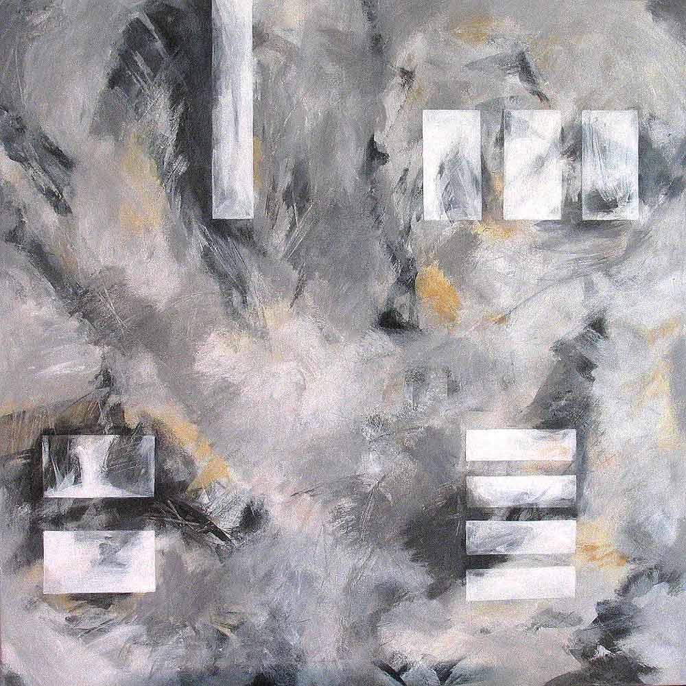 #200353 | Variationen zu einem Thema #13 | Acryl auf Leinwand | 80 x 80 cm