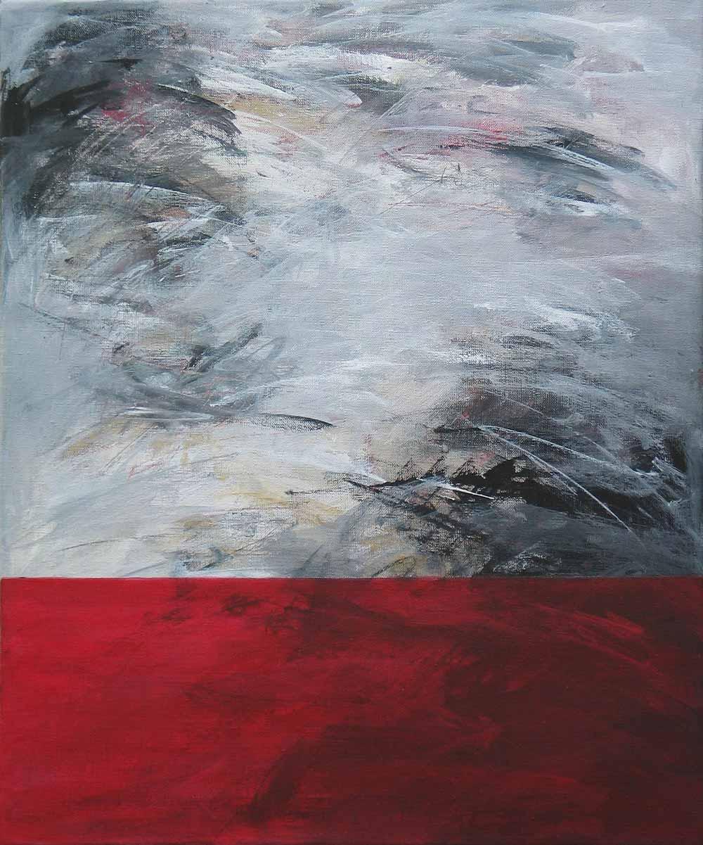 #200361 | Variationen zu einem Thema #21 | Acryl auf Leinwand | 60 x 50 cm
