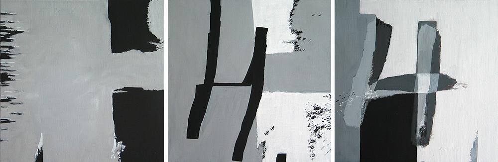 #200424 | 3teilig | Acryl auf Leinwand | 3 x 50 x 50 cm