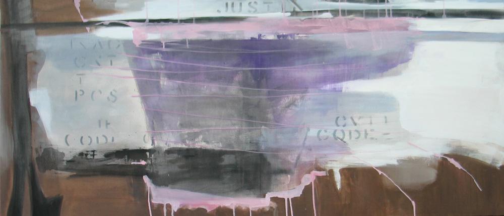 #200849   Acryl auf Leinwand   60 x 140 cm