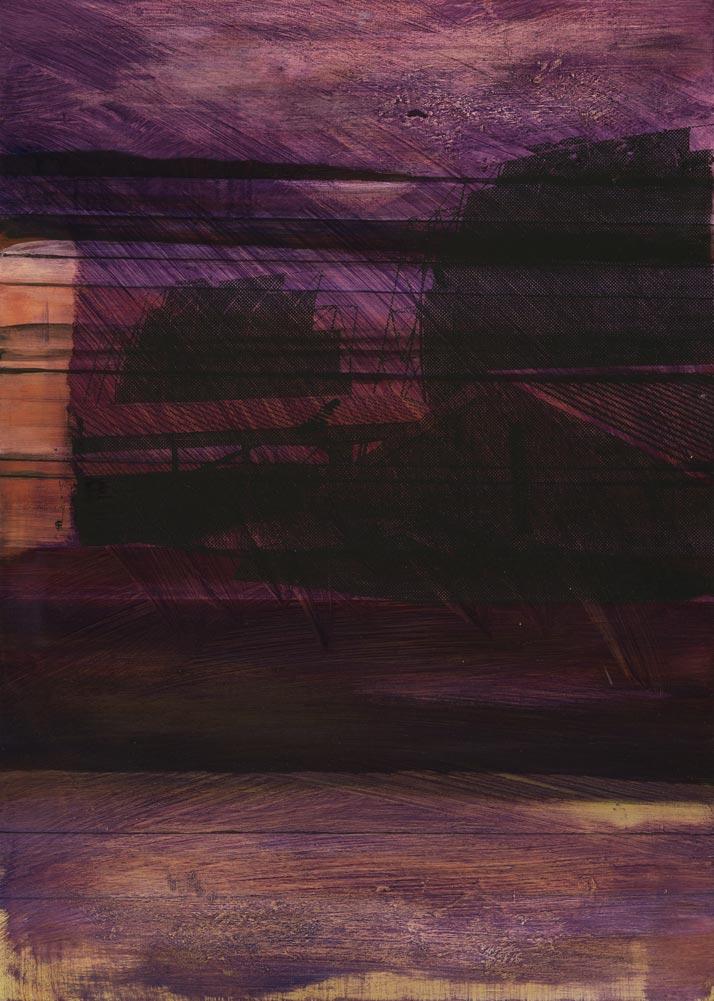 #20213 | Acryl und Siebdruck | 70 x 50 cm