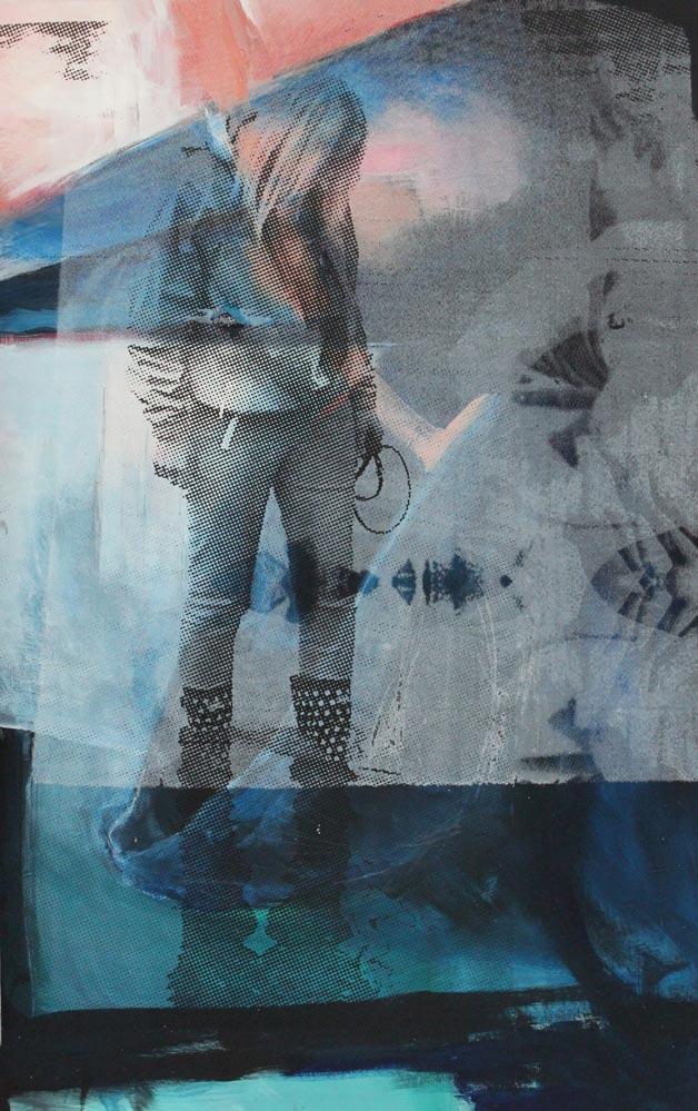 #201714 | Acryl und Siebdruck | 86 x 54 cm