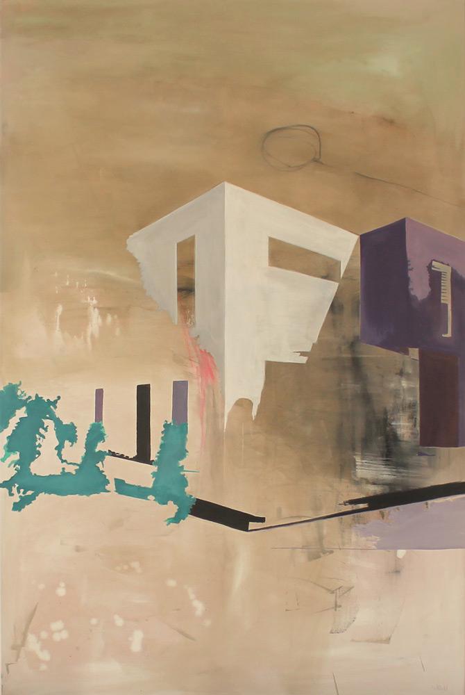 #20148 | Pigment, Acryl auf Leinwand | 150 x 100 cm