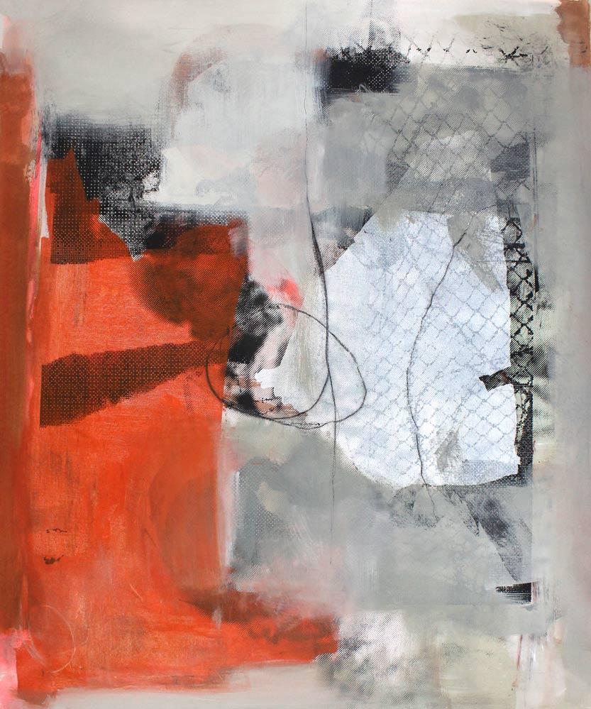 #20169 | Acryl und Siebdruck auf Leinwand | 120 x 99 cm