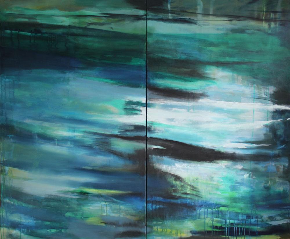 #20127 | 2teilig | Acryl auf Leinwand | 165 x 200 cm
